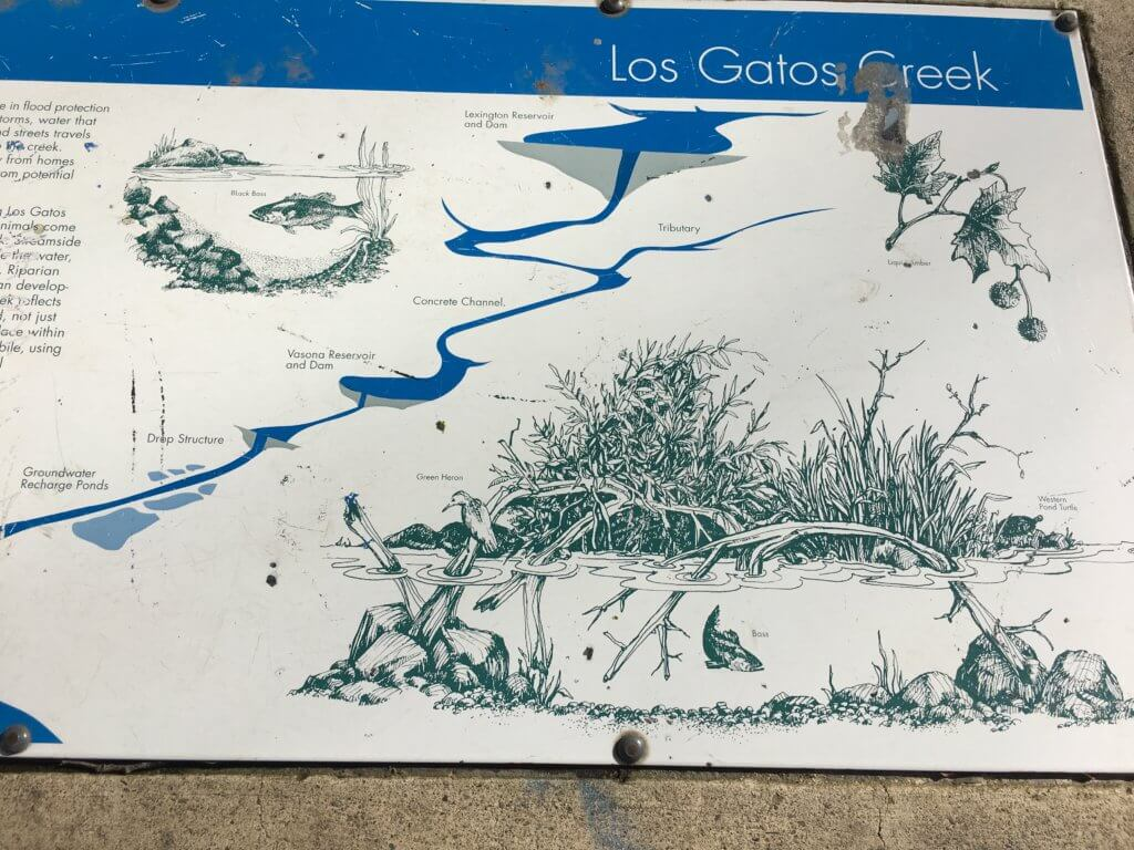 Los Gatos Creek Map